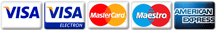 Looney Lizard Creations accepts the following payment types: Mastercard, Maestro, Visa, Visa Electron, American Express Through PayPal